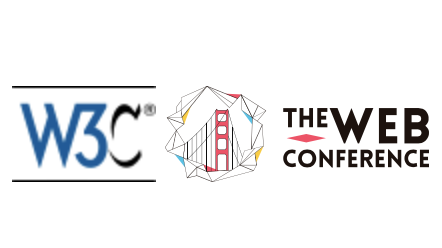 the logos of W3C and The Web Conference 2019